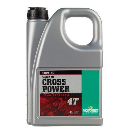 ACEITE MOTOREX CROSS POWER 4T 10W50 (4 LITROS)