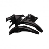 OUTLET KIT PLASTICOS COMPLETO UFO YZ 125 Y 250 2002-2005 NEGRO