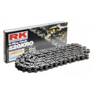 (OFFER) RK CHAIN WITH ORINGS REINFORCED 520KRO 120 LINKS BLACK