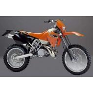 DESPIECE COMPLETO KTM EXC 250 AÑO 2000