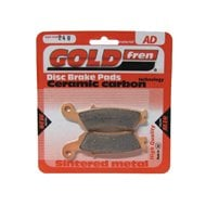 SINTERED METAL REAR BRAKE PADS BMW GOLDFREN