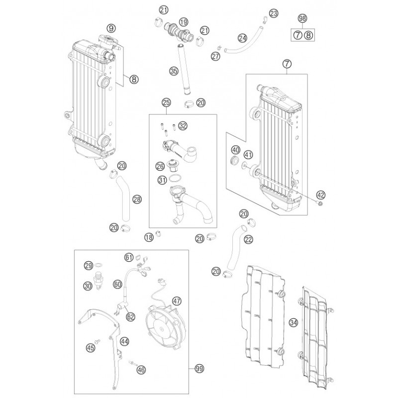ref 42 - collar screw m6x12 tx 0023060123