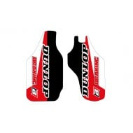 FORK GUARD DECALS HONDA CR/CRF 09-17