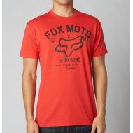CAMISETA FOX KNOWHERE ROJA TALLA S