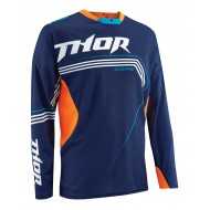 OFFER JERSEY THOR CORE BEND NAVY/FLUORESCENT ORANGE SIZE S WITH SMALL DEFECT