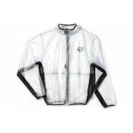 FOX YOUTH RAIN JACKET FLUID MX CLEAR/BLACK COLOUR