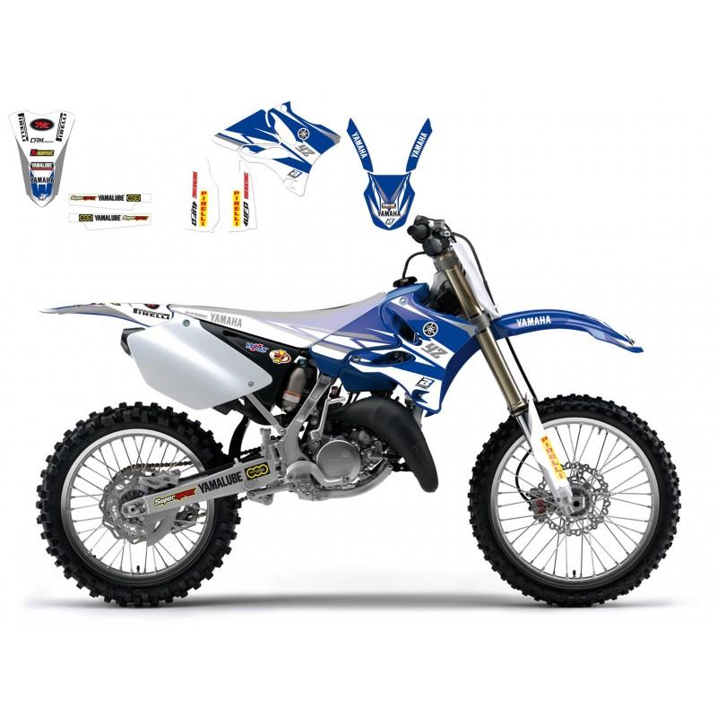 Sticker Graphics Kit Factory Racing 2014 Yamaha Yz125  250