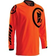 OFFER THOR PHASE GASKET FLO ORANGE / BLACK 2016 YOUTH JERSEY