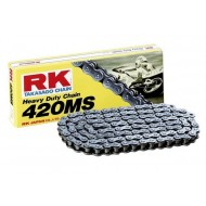 CHAIN RK MOTOCROSS 420 MS BIKES 65 C.C.