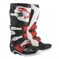 ALPINESTARS TECH 7 BOOTS BLACK / WHITE / RED