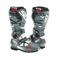 OFFER SIDI CROSSFIRE 2 BOOTS WHITE / GREY / BLACK SIZE 46