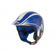 CASCO SH-65 K2 GRAPHIC SHIRO AZUL