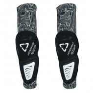 OFFER LEATT 3DF HYBRID BLACK/WHITE ELBOW GUARD