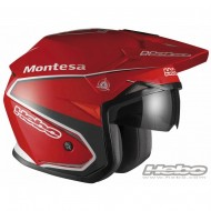 CASCO TRIAL MONTESA CLASSIC ZONE COLLECTION COLOR ROJO