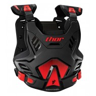 THOR YOUTH SENTINEL GP CHEST PROTECTOR 2021 BLACK / RED