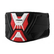 OUTLET FAJA THOR FORCE BELT 2020 COLOR NEGRO / ROJO / BLANCO