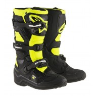 BOTAS INFANTILES ALPINESTARS TECH 7 S 2020 COLOR NEGRO / AMARILLO
