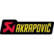 ADHESIVO AKRAPOVIC 120 X 34,5 MM
