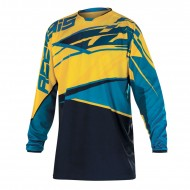 (OFFER) ACERBIS X-GEAR TSHIRT YELLOW/BLUE SIZE M