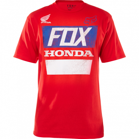 CAMISETA FOX HONDA DISTRESSED BASIC ROJA fcc8176cc8a
