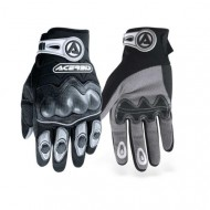 CARBON ACERBIS GLOVES BLACK WITH PROTECTION