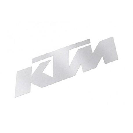 ADHESIVO -KTM- 4,0 CM ALTO BLANCO KTM ORIGINAL