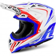 OFFER OFF ROAD HELMET AIROH AVIATOR 2.2 EDGE WHITE GLOSS