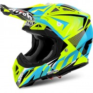 OFFER OFF ROAD HELMET AIROH AVIATOR 2.2 FLASH YELLOW GLOSS