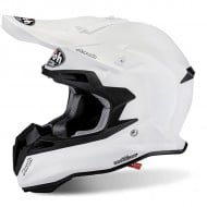 OFFER OFF ROAD HELMET AIROH TERMINATOR 2.1 S COLOR WHITE GLOSS