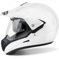 OFFER FULL FACE / OFF ROAD AIROH S5 COLOR WHITE GLOSS