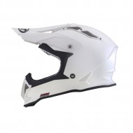 OFFER HELMET OFF ROAD KYT STRIKE EAGLE PLAIN WHITE