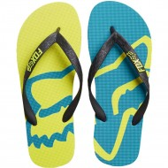 CHANCLAS FOX BEACHED FLIP FLOP AMARILLO FLUOR