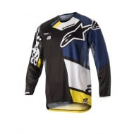 OUTLET CAMISETA ALPINESTARS TECHSTAR FACTORY 2018 COLOR NEGRO /
