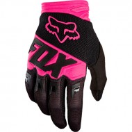 GUANTES FOX DIRTPAW RACE COLOR NEGRO / ROSA