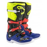BOTAS ALPINESTARS TECH 5 2019 COLOR AZUL / NEGRO / AMARILLO