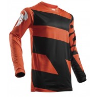 OUTLET CAMISETA THOR S8 PULSE LEVEL NEGRO/NARANJA 2018