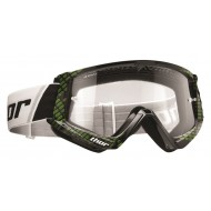 THOR GOOGLES COMBAT CAP OFFROAD BLACK/WHITE 2018