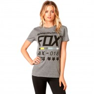 CAMISETA FOX DRAFTR CREW COLOR GRIS