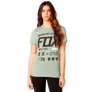 CAMISETA FOX DRAFTR CREW TEE COLOR VERDE SALVIA
