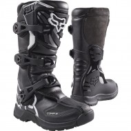 FOX YOUTH COMP 3Y BOOTS BLACK COLOUR
