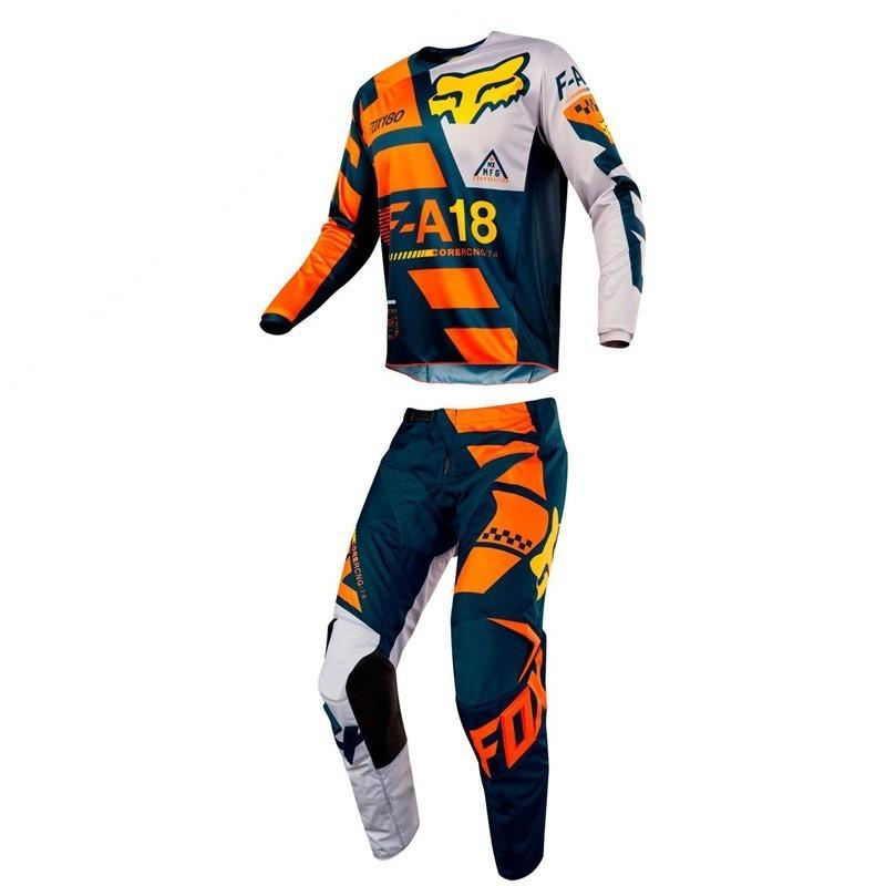 talla 34 Pantalones color naranja Fox 180 Sayak