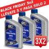 (BLACK FRIDAY) ACEITE GRO GLOBAL RACING 4T 10W50 1 LITRO (3 UNIDADES)
