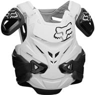 FOX AIRFRAME PRO JACKET CHEST PROTECTOR 2018 COLOR BLACK / WHITE