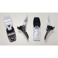 FOX COMP 5K BUCKLE BASE WITH LEVER COLOR WHITE / BLACK