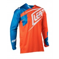 OUTLET CAMISETA LEATT GPX 4.5 X-FLOW 2018 COLOR NARANJA / AZUL