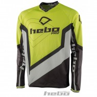 CAMISETA HEBO TRIAL PRO 2018 COLOR LIMA