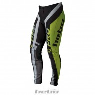OUTLET PANTALONES HEBO TRIAL PRO 2018 COLOR LIMA