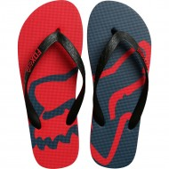 CHANCLAS FOX BEACHED ROJO OSCURO