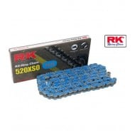OFFER CHAIN RK 520XSO 120 LINKS BLUE COLOR