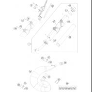 BUFANDA ESCAPE HOMOLOGADA KTM/HUSQVARNA/HUSABERG 250/300 (2012-2016)